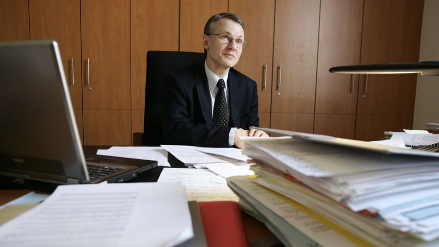 Jean-François Ricard, le procureur à la tête du premier parquet national antiterroriste (PNAT), photographié en 2006