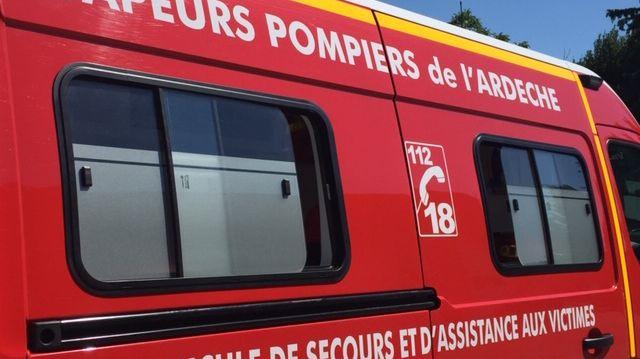 illustration pompiers de l'Ardèche