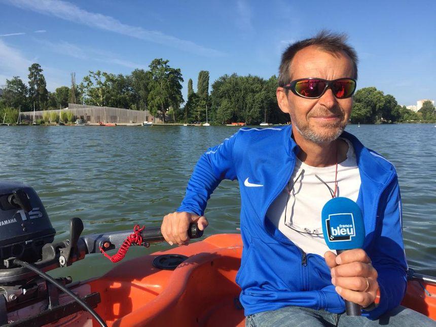 Frédéric Mistral, régisseur du lac d'Enghien-les-Bains