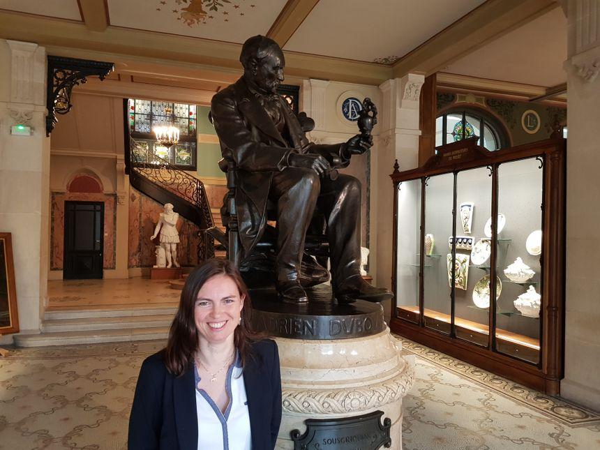 Delphine Vincent, responsable du service des publics, de la communication pour le musée national Adrien Dubouché de Limoges.