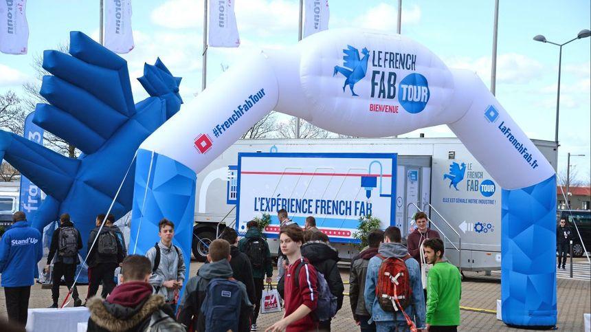 Le village du French Fab Tour