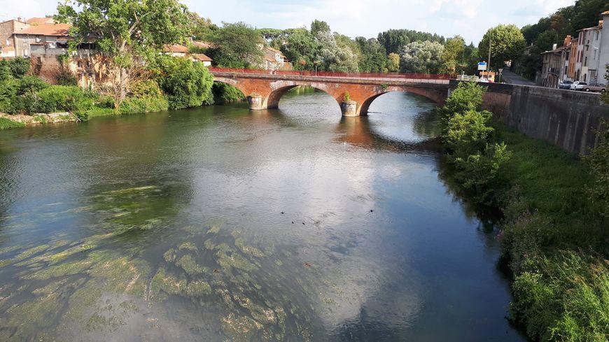 La rivière Ariège à Saverdun (09)