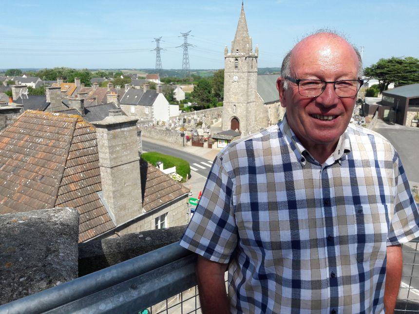 La visite de ce jeudi sera réalisée par le maire de Flamanville, Patrick Fauchon