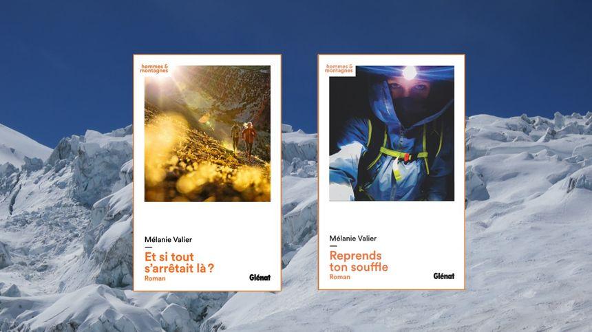 Les 2 romans de Mélanie Valier, édités chez Glénat