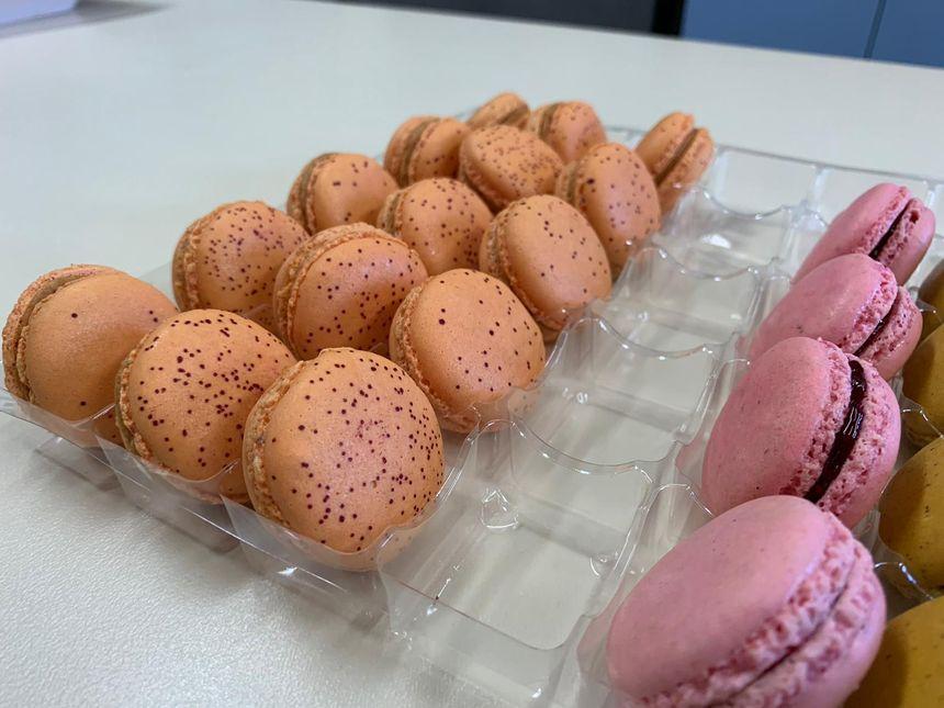 Quelques exemples de Macarons Gourmands