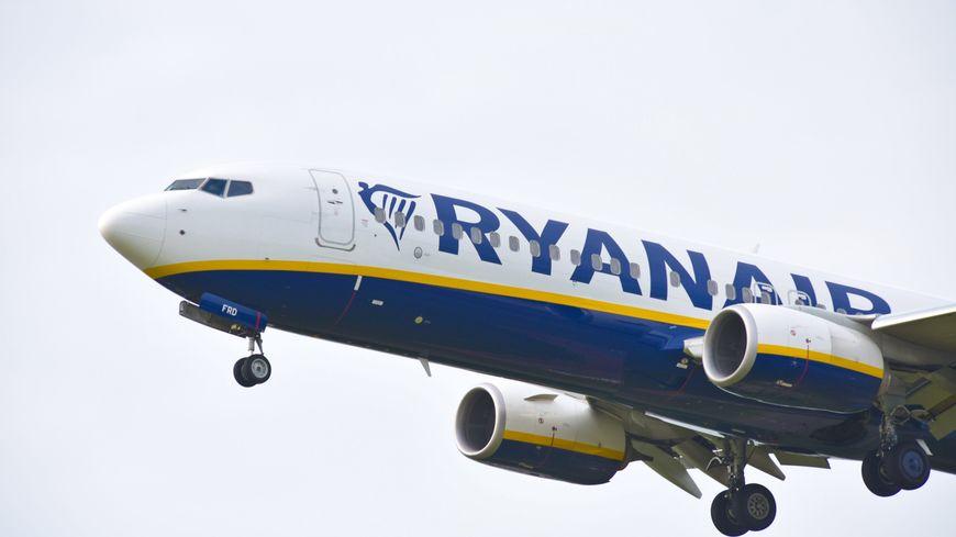 Un avion de la compagnie Ryanair