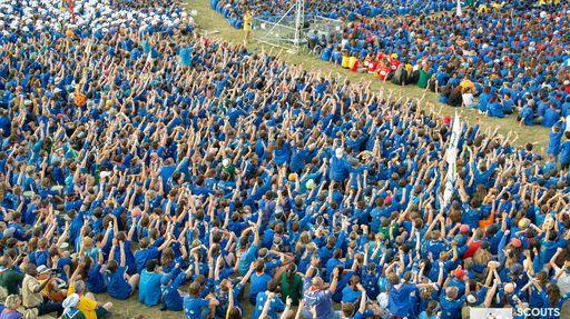 20 000 scouts participent au Jumboree des Scouts et Guides de France à Jambville