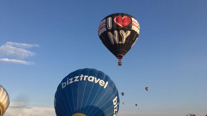 Le plus grand rassemblement de montgolfières au monde à Chambley-Bussières.