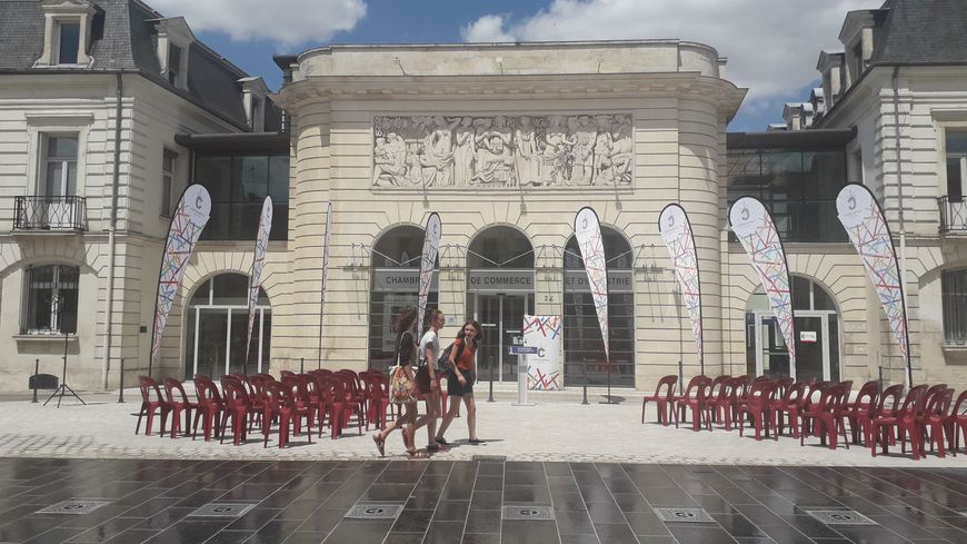 La place Gambetta inaugurée samedi 13 juillet à Châteauroux