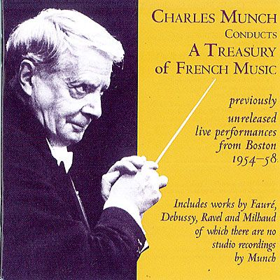 CD Munch conducts french music