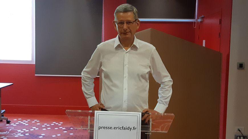 Eric Faidy présente ses cinq engagements pour Clermont-Ferrand