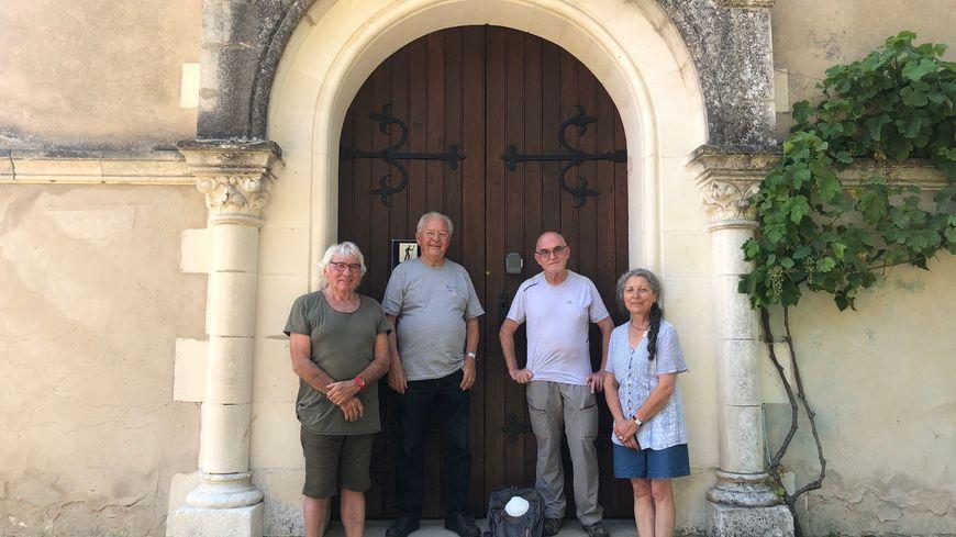 Grâce aux membres de la Société landaise des amis de Saint-Jacques, l'église de Vialotte est devenue un refuge pour pèlerins.