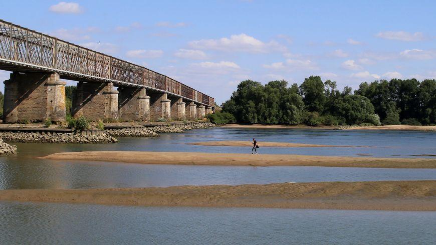 Le niveau de la Loire à un plus bas quasi historique