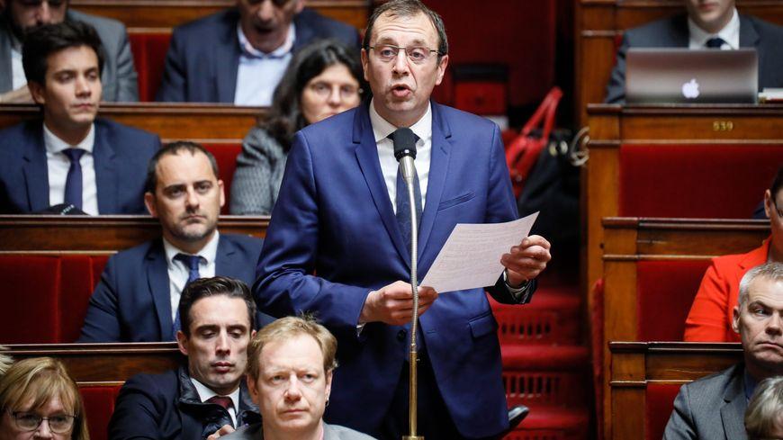 François Jolivet, lors d'une séance de questions au gouvernement, à l'Assemblée nationale