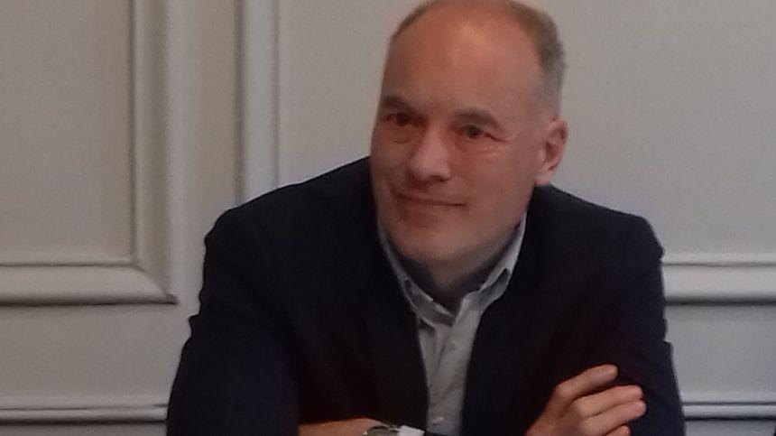 Renaud Dutreil, au moment du rachat des quatre fabricants de chaussons et pantoufles