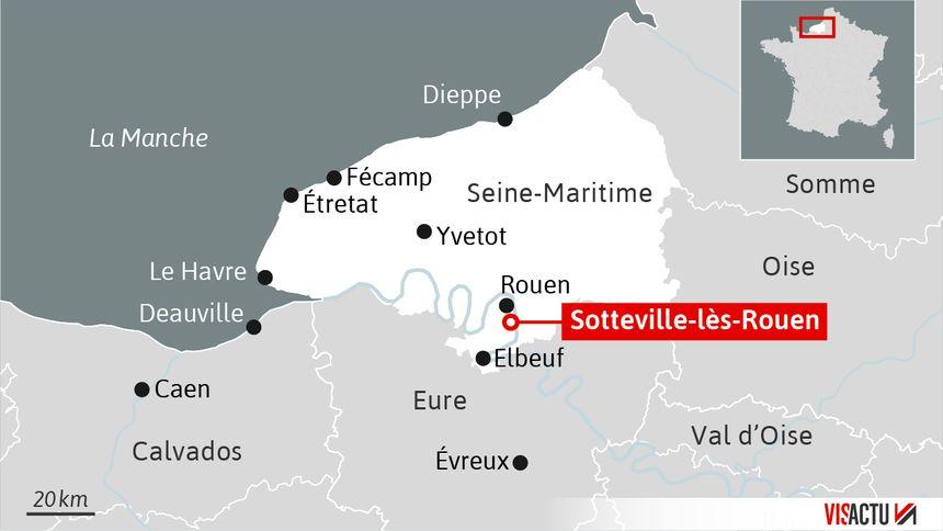 L'auteur présumé a été interpellé dans un hôtel de Sotteville-lès-Rouen