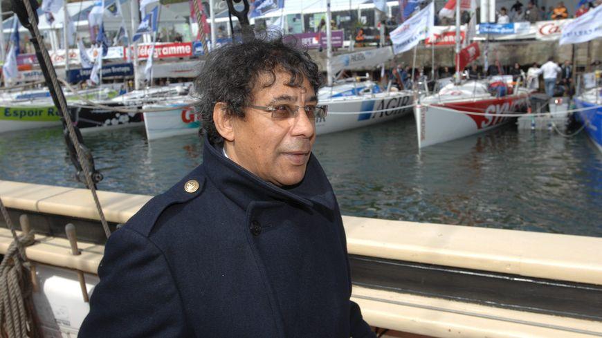 Laurent Voulzy à Belle-Ile-en-Mer lors de la départ d'un transat vers Marie-Galante
