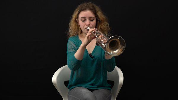 VIDEO - La trompette par Lucienne Renaudin Vary