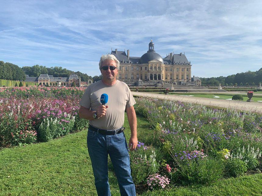 Patrick Borgeot, chef jardiner du château de Vaux-le-Vicomte