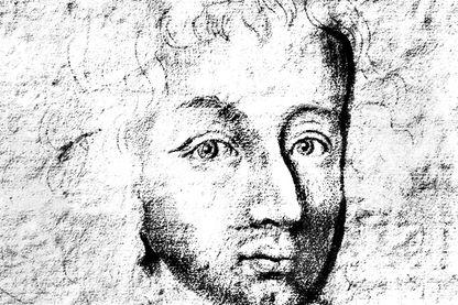 Portrait du mathématicien Blaise Pascal