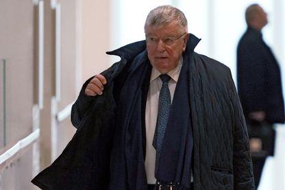 L'ex-PDG Didier Lombard, principal prévenu dans le procès France Télécom
