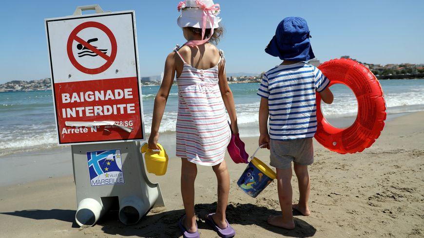La baignade est interdite sur cinq plages de Royan. (Photo illustration)