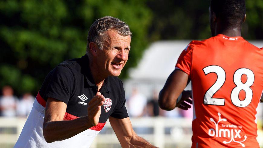 Patrice Lair, nouvel entaîneur d'En Avant Guingamp