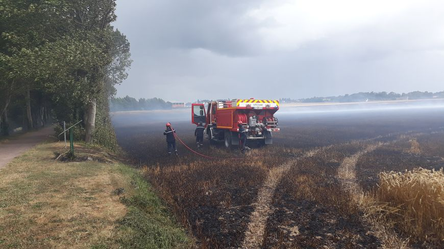 Incendie maîtrisé par les pompiers