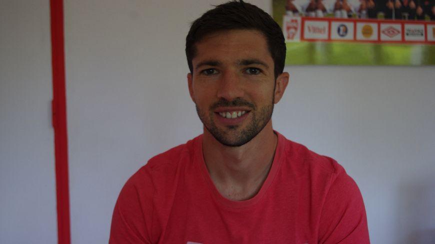 Vincent Muratori, le défenseur de l'AS Nancy Lorraine, 23 juillet 2019