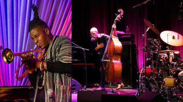 En direct et en public de Jazz in Marciac : Christian Scott aTunde Adjuah et Avishai Cohen trio