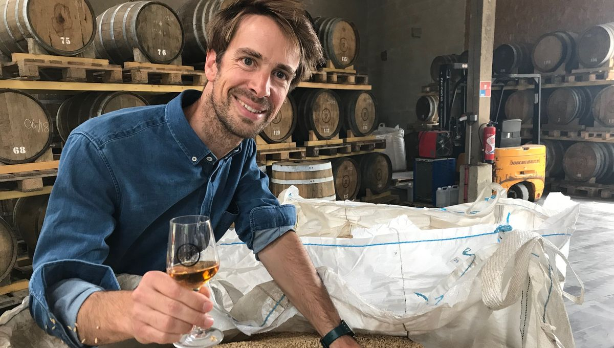 PHOTOS - Bientôt du whisky made in Somme