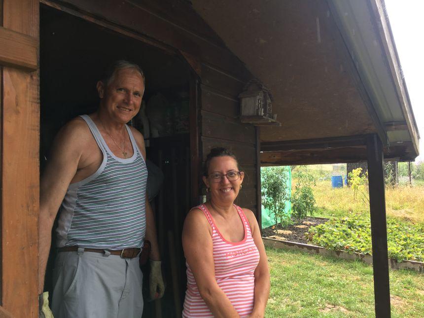 Véronique et jean-Pierre, qui attendaient la pluie comme le messie