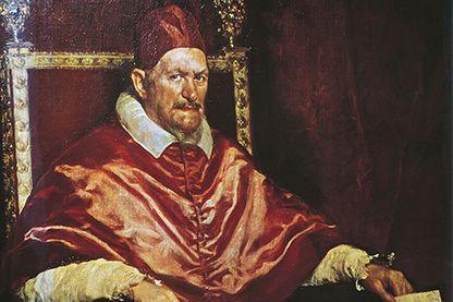 Portrait du Pape Innocent X, Velasquez, 1650