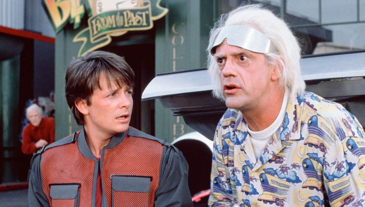 """Retour vers le futur"""" : Christopher Lloyd (Doc) est chaud pour un ..."""