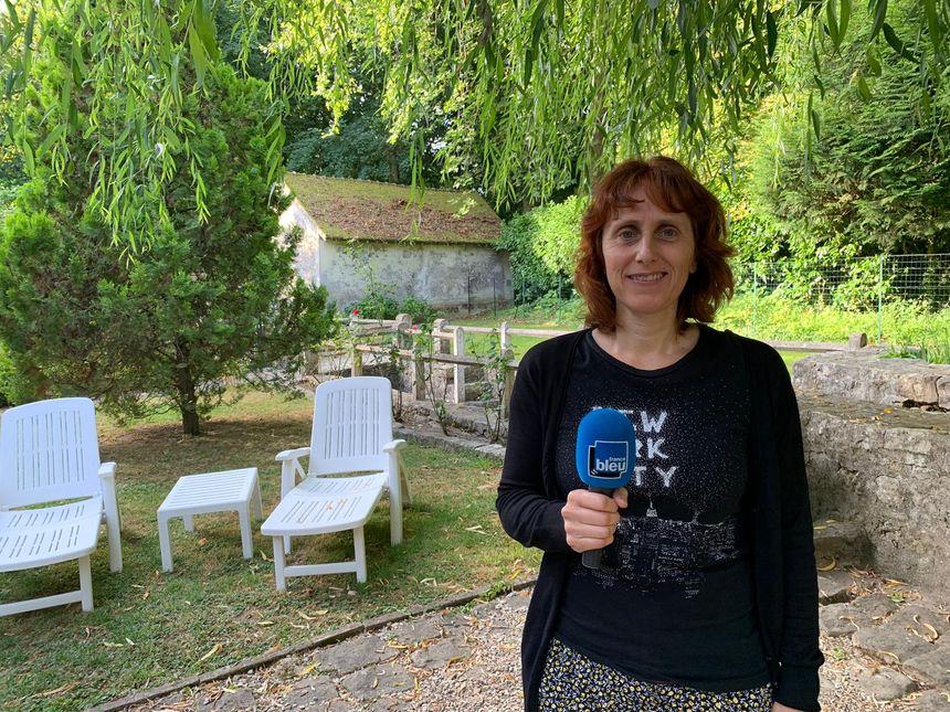 Nathalie Levasseur, propriétaire du Moulin du Ponceau à Rubelles