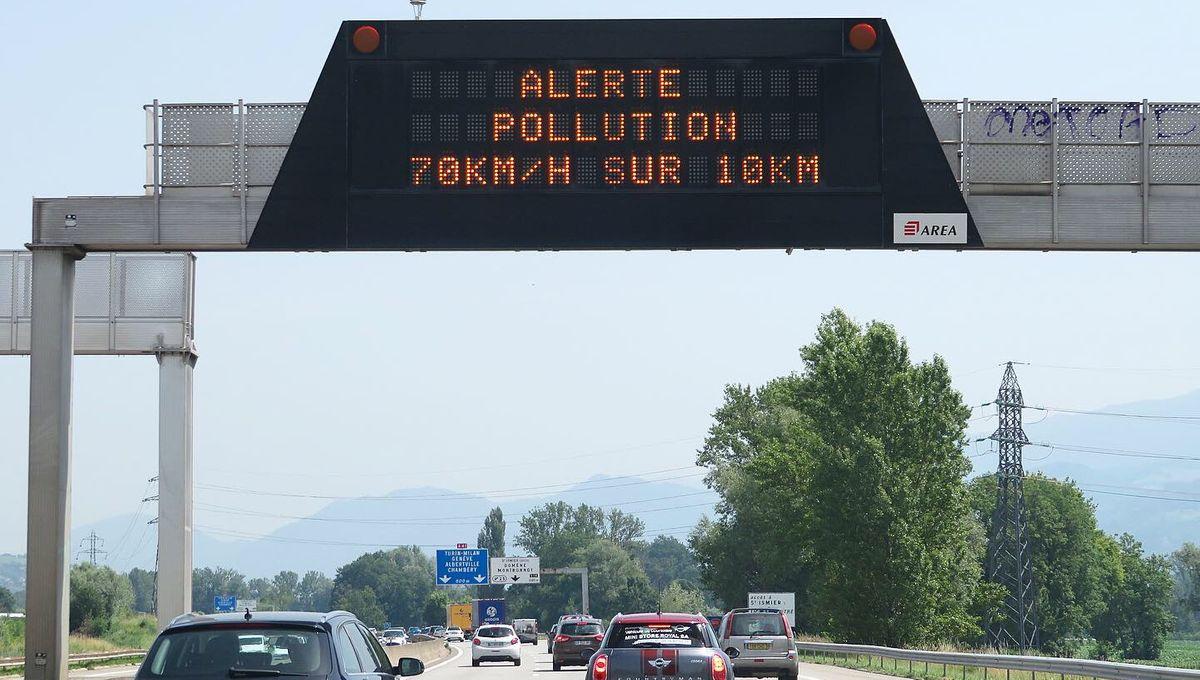 Pollution : des réductions de vitesse sur les routes dans les Vosges et en Meurthe-et-Moselle
