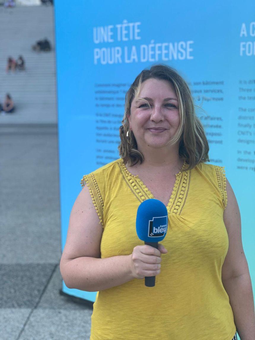 Virginie Pontallier, responsable du Pôle archives de Paris La Défense