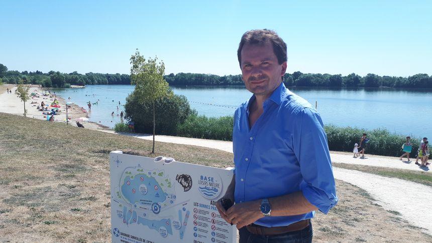 Ludovic Rochette, le président de la Communauté de communes Norge-et-Tille, qui gère la base de loisirs d'Arc-sur-Tille