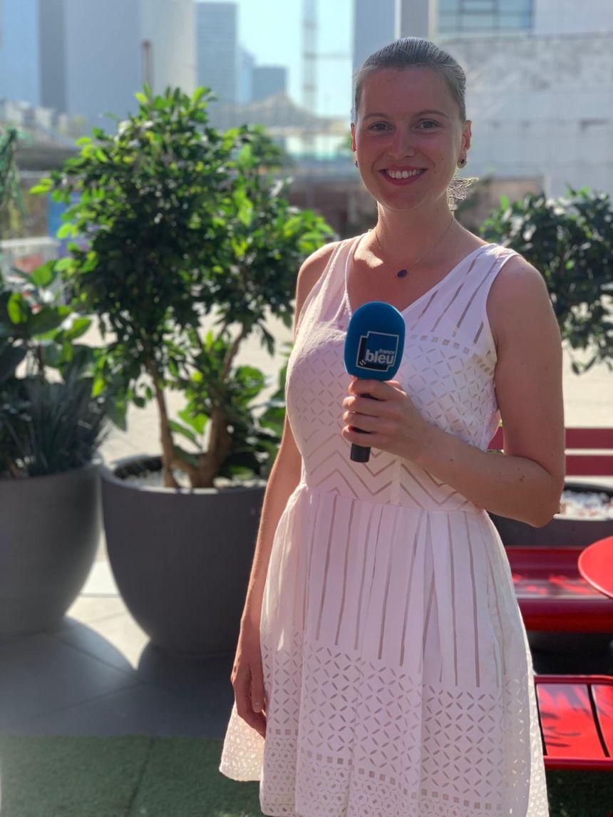 Julie Cayrel, manager de l'Hôtel CitizenM