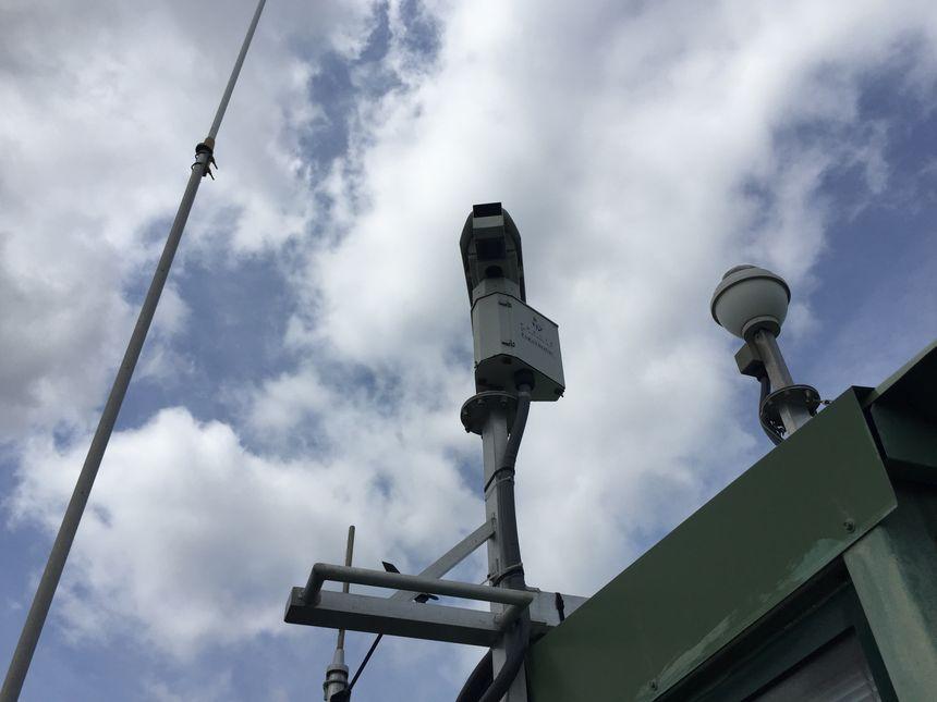 Les caméras permettent de surveiller à distance la forêt.