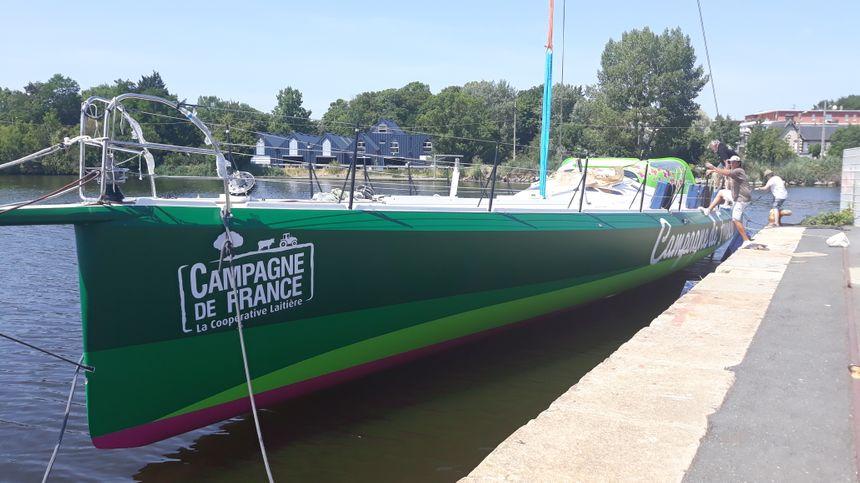 """Le bateau """"Campagne de France"""""""
