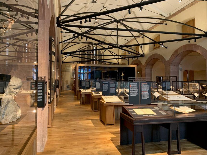 Sélestat, bibliothèque humaniste, salle du trésor