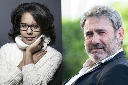Audrey Pulvar et Sergi Lopez