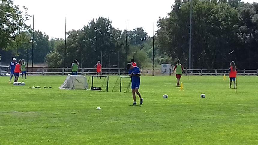 L'entrainement des footballeuses de Soyaux a repris le 22 juillet