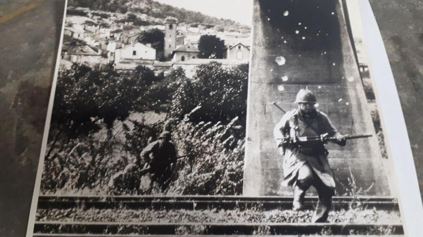 Des soldats américains près de Dornot en septembre 1944