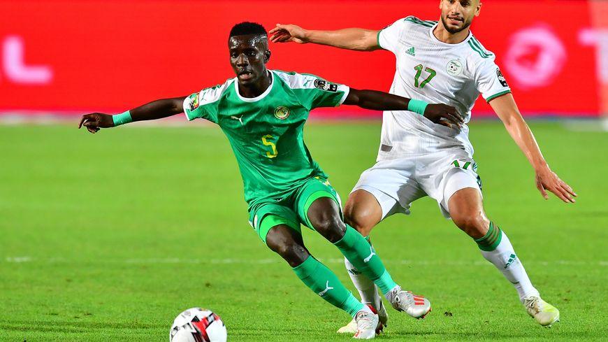 Idrissa Gueye, finaliste malheureux de la CAN avec le Sénégal.