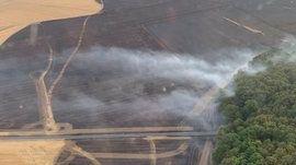 Plus de 2 000 hectares sont partis en fumée dans l'Eure