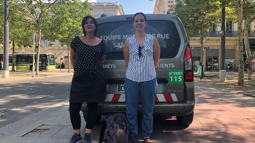 Alice et Mélanie font des maraudes toute l'année dans Saint-Étienne et la couronne stéphanoise.