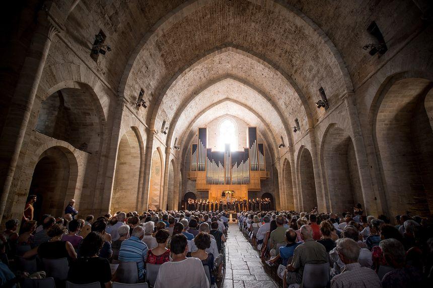 L'abbatiale de l'Abbaye de Sylvanès