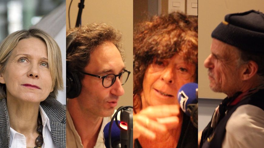 Macha Makeïeff de « Lewis versus Alice », Sébastien Davis de « La casque et l'enclume », Claire Dancoisne de « La Green Box », Denis Lavant de « La dernière bande »,